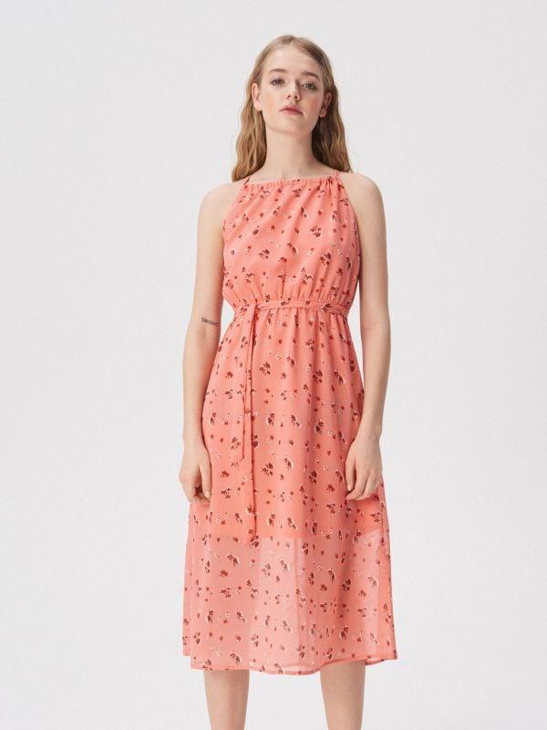 4ad202d96a Pásikavé šaty polo · Červené šaty na tenké ramienka - viacfarebná -  VP252-MLC - SINSAY