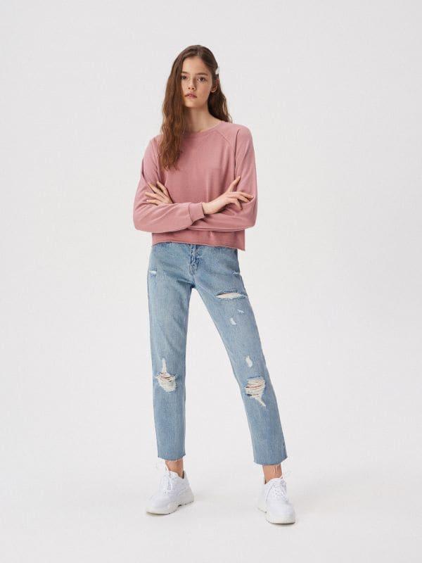 dd379d9426e084 Bluzy damskie Sinsay - Ciepłe i wygodne